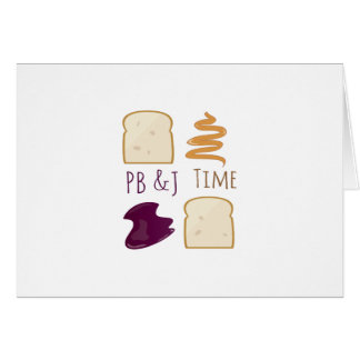 De Tijd van Pb &J Kaart