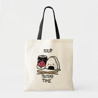 De tijd van sushi! draagtas