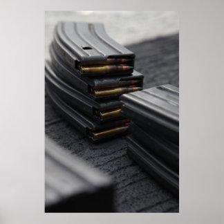 De Tijdschriften van het geweer Poster