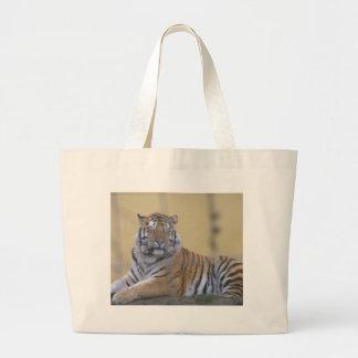 De tijger grote draagtas