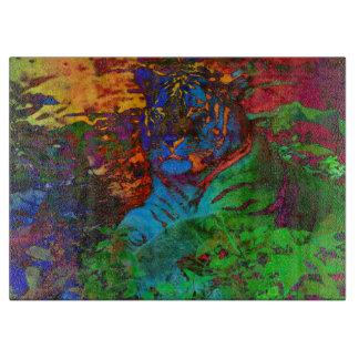 De Tijger van de regenboog Snijplank