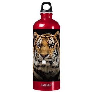 De tijger van het konijn - tijgergezicht - aluminium waterfles