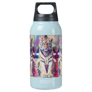 De tijger van Hipster - tijgerkunst - Geïsoleerde Waterfles