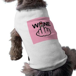 De Tik van de Wijn van de Kleding van de hond