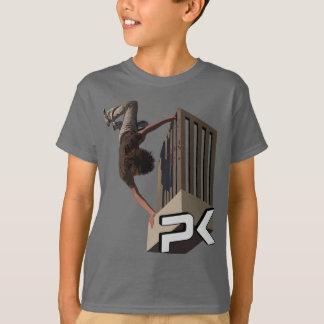 De Tik van het Spoor van Parkour T Shirt