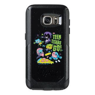 De Titanen van de tiener gaan! grafische de Pizza OtterBox Samsung Galaxy S7 Hoesje