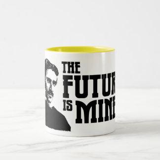 De toekomst is Mijn! Mok