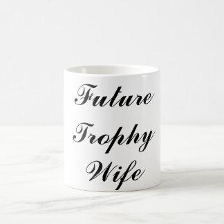 De toekomstige Mok van de Vrouw van de Trofee