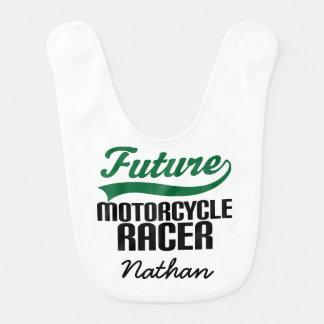 De toekomstige Motorracer Gepersonaliseerde Slab Baby Slabbetje