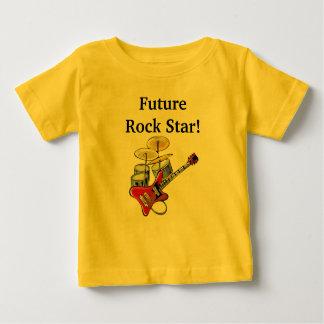 De toekomstige Ster van de Rots Baby T Shirts