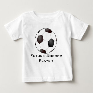 De toekomstige T-shirt van de Voetballer