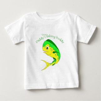De Toekomstige Vissende Vriend van Mahi Baby T Shirts