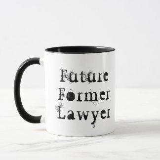 De toekomstige Vroegere Mok van de Advocaat