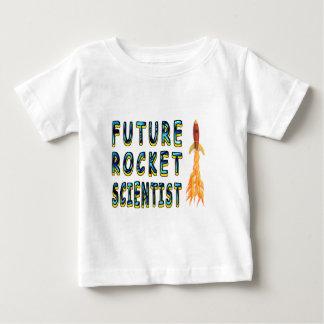 De toekomstige Wetenschapper van de Raket Baby T Shirts