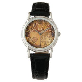 De Toestellen van Steampunk van Grunge Horloge