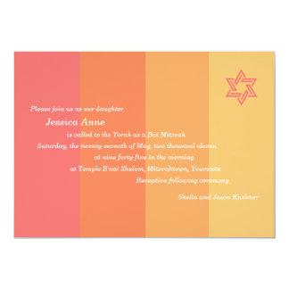 De toon- uitnodiging van Mitzvah van de Knuppel