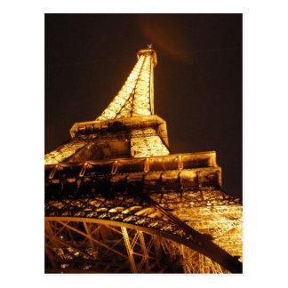 De Toren Parijs Frankrijk van Eiffel - de Vakantie Briefkaart