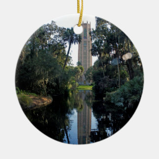 De Toren van Bok Rond Keramisch Ornament