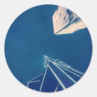 De Toren van de hemel Ronde Sticker