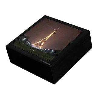 De Toren van Eiffel bij Nacht Decoratiedoosje