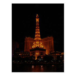 De Toren van Eiffel, het Casino van Parijs, Las Briefkaart