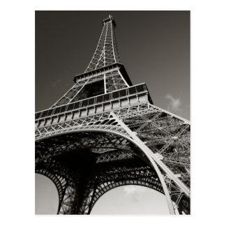 de toren van Eiffel in Parijs Briefkaart