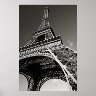 de toren van Eiffel in Parijs Poster