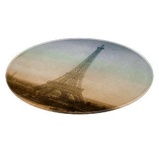 De toren van Eiffel in Parijs Snijplank