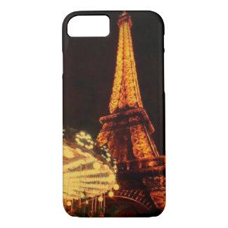 De Toren van Eiffel na dark iPhone 8/7 Hoesje