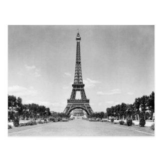 De Toren van Eiffel, Parijs Frankrijk 1909 Briefkaart