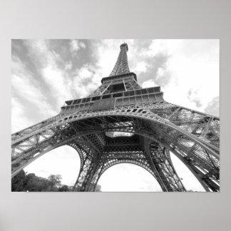 De Toren van Eiffel, Parijs, Frankrijk Poster
