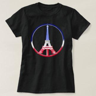 De Toren van Eiffel van de Vrede van Parijs T Shirt