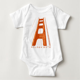 De Toren van golden gate bridge - Sinaasappel Romper
