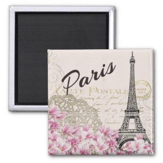 De Toren van Parijs - van Eiffel Vierkante Magneet