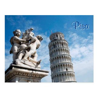 De Toren van Pisa Briefkaart