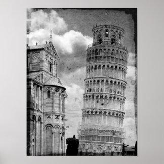 De Toren van Pisa Poster
