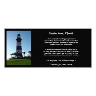 De Toren van Smeaton, de Schoffel van Plymouth Reclamekaart