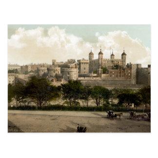 De Toren van vintage Engeland, Londen Briefkaart