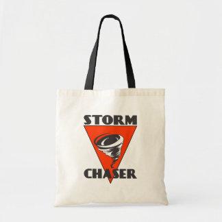 De Tornado van de Jager van het storm en Rode Draagtas