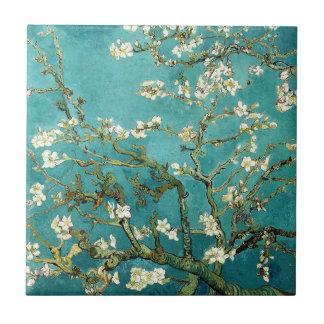 De tot bloei komende Boom Vintage Floral Van Gogh Keramisch Tegeltje