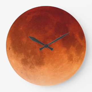 De totale MaanKlok van de Maan van het Bloed van Grote Klok