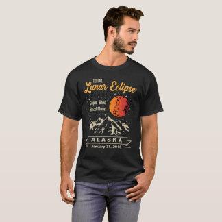 De totale MaanMaan van het Blauw bloed van Alaska T Shirt