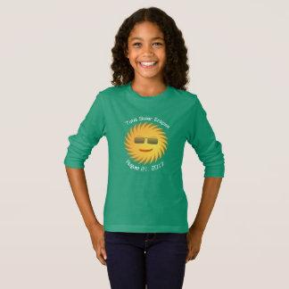 De totale ZonneT-shirt van de Verduistering - Lang T Shirt