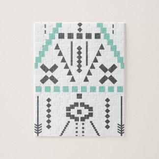 De Totem van Boho, Etnisch Symbool, Hippie, Puzzel