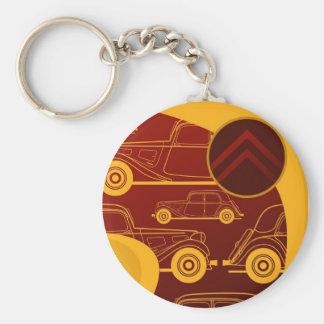De Tractie Avant Keychain van Citroën Sleutelhanger