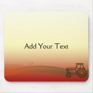 De Tractor Mousepad van de zonsondergang Muismat