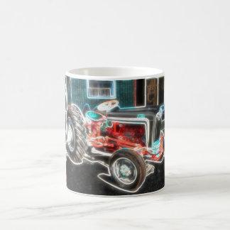 De Tractor van het neon Koffiemok