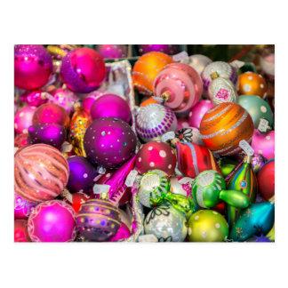 De traditionele Ornamenten van het Glas bij de Briefkaart