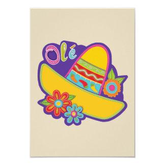 De traditionele Partij van Cinco DE Mayo van 8,9x12,7 Uitnodiging Kaart