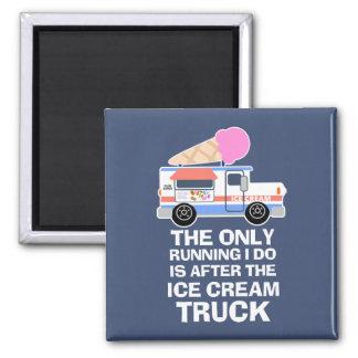 De Training van de Vrachtwagen van het roomijs Magneet